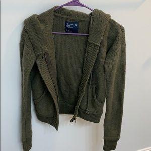 Zip-up Hooded AE jacket